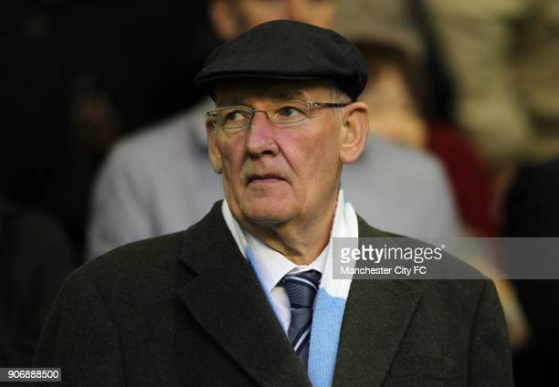 Barclays Premier League Liverpool v Manchester City Anfield Manchester City Life President Bernard Halford in the atands