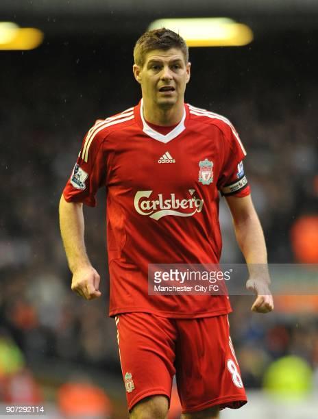 Barclays Premier League Liverpool v Manchester City Anfield Steven Gerrard Liverpool