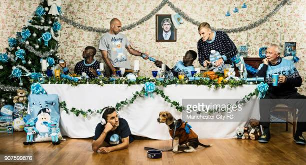 Barclays Premier League Manchester City Christmas Photo With less than 50 sleeps to go until Christmas Manchester City FC are gearing up for the...