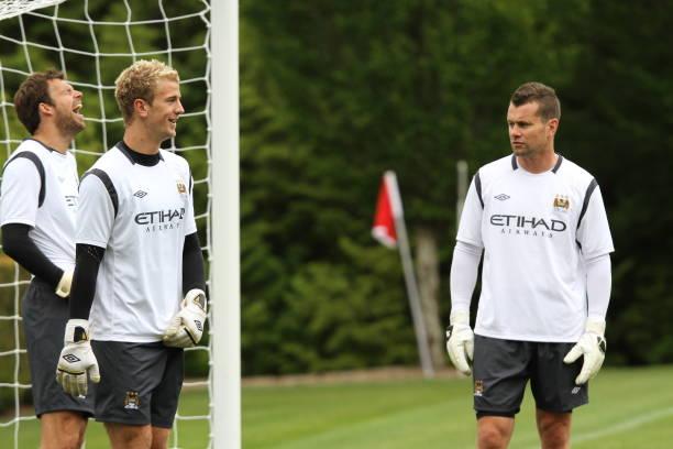53a4139b9d81 Soccer - Barclays Premier League - Manchester City Pre Season Tour - Manchester  City Training -