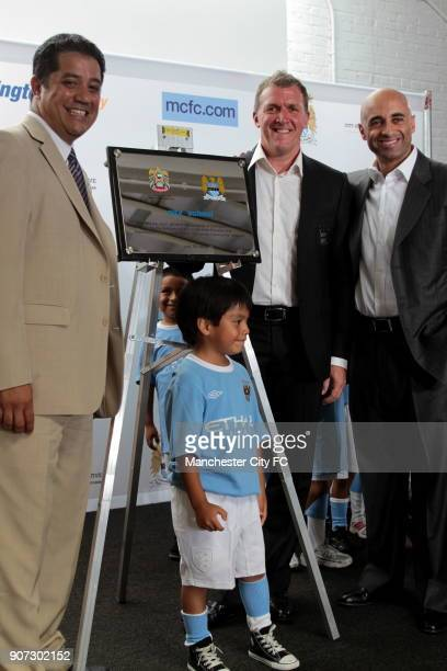 Barclays Premier League Manchester City Pre Season Tour Manchester City Lexington Academy Manchester City's Chief Executive Garry Cook with...