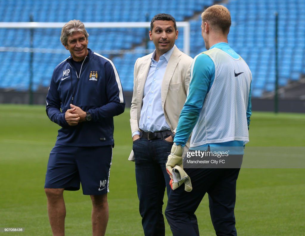 Image result for khaldoon mubarak and joe hart