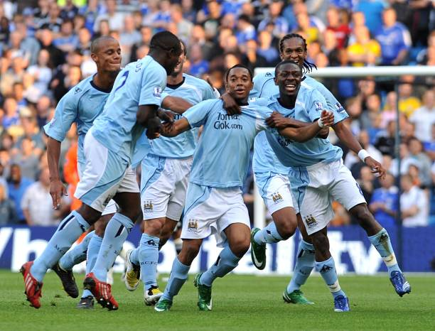 Soccer - Barclays Premier League - Manchester City v Chelsea - City of Manchester Stadium