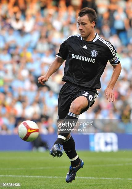 Barclays Premier League Manchester City v Chelsea City of Manchester Stadium John Terry Chelsea