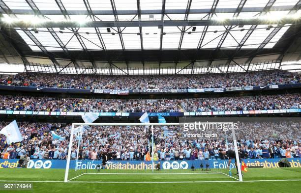 Barclays Premier League Manchester City v Chelsea Etihad Stadium Manchester City's south stand A19U4955jpg