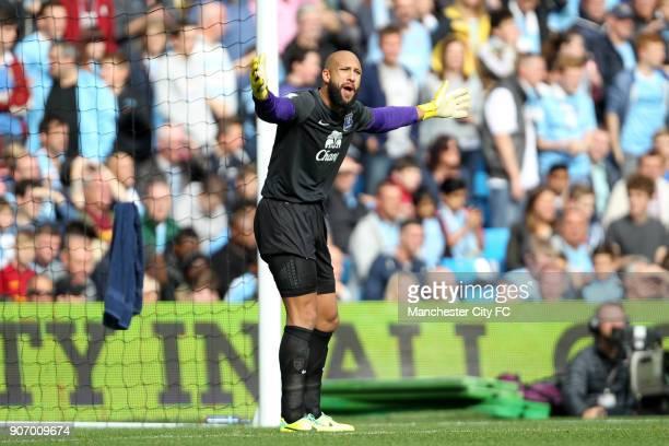 Barclays Premier League Manchester City v Everton Etihad Stadium Tim Howard Everton goalkeeper