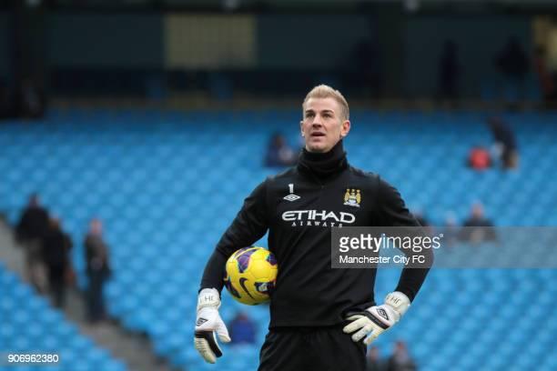 Barclays Premier League Manchester City v Fulham Etihad Stadium Manchester City goalkeeper Joe Hart