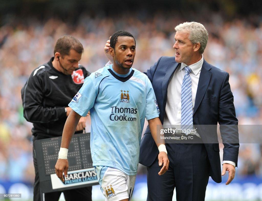 Soccer - Barclays Premier League - Manchester City v Portsmouth - City of Manchester Stadium : News Photo
