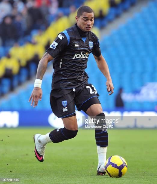 Barclays Premier League Manchester City v Portsmouth City of Manchester Stadium KevinPrince Boateng Portsmouth
