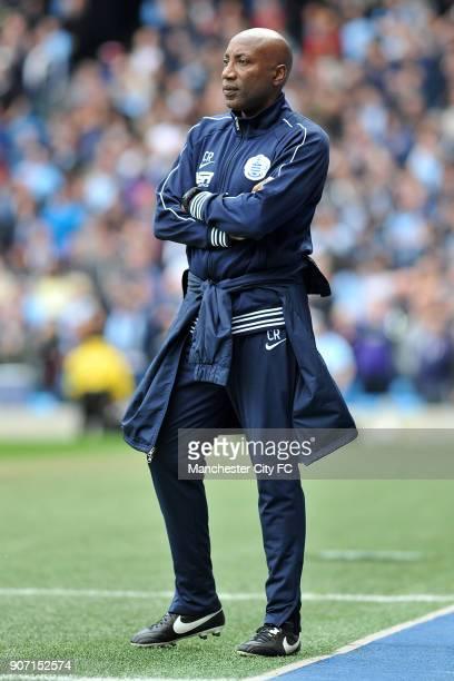 Barclays Premier League Manchester City v Queens Park Rangers Etihad Stadium QPR boss Chris Ramsey on the touchline during the Barclays Premier...