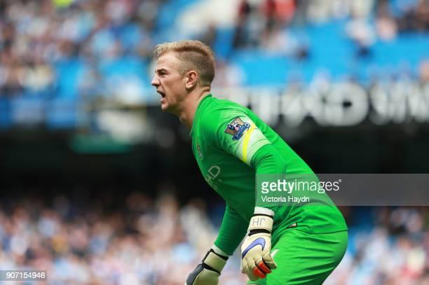 Barclays Premier League Manchester City v Queens Park Rangers Etihad Stadium Manchester City goalkeeper Joe Hart in action