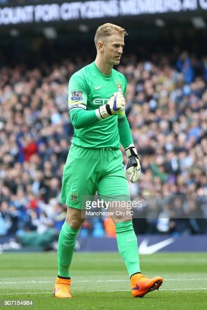 Barclays Premier League Manchester City v Queens Park Rangers Etihad Stadium Manchester City's Joe Hart