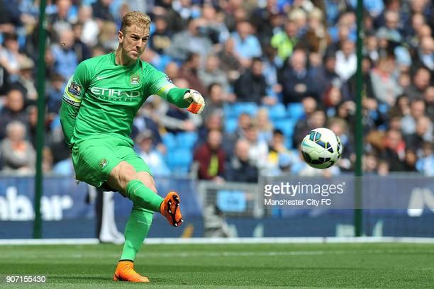 Barclays Premier League Manchester City v Queens Park Rangers Etihad Stadium Manchester City's Joe Hart during the Barclays Premier League match