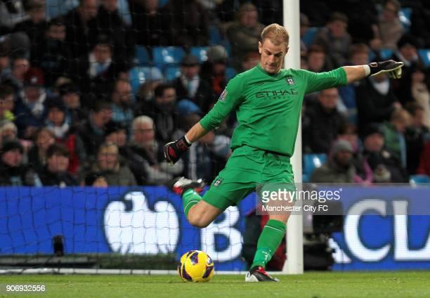 Barclays Premier League Manchester City v Swansea City Etihad Stadium Joe Hart Manchester City goalkeeper