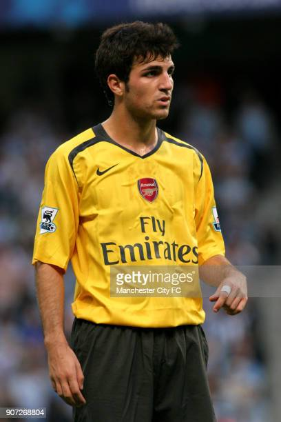 FA Barclays Premiership Manchester City v Arsenal City Of Manchester Stadium Francesc Fabregas Arsenal