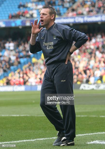 FA Barclays Premiership Manchester City v Charlton Athletic The City of Manchester Stadium Stuart Pearce Manchester City manager