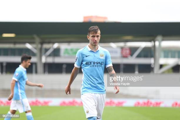 Barclays U21 Premier League Manchester City v Tottenham Hotspur City Football Academy Manchester City's Bersant Celina in action