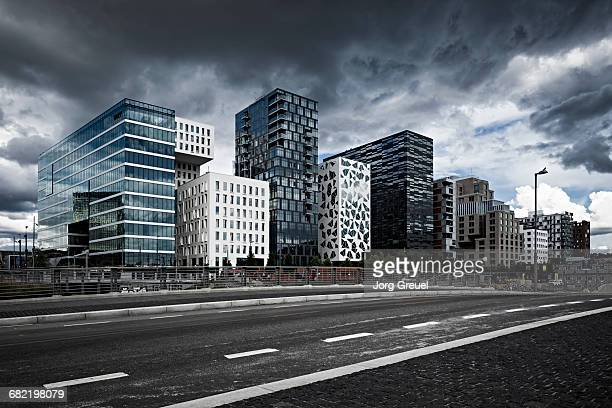 'Barcode' buildings, Oslo