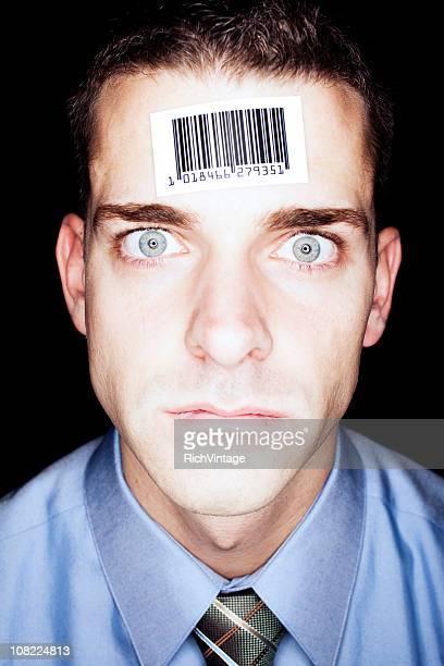 Barcode Businessman