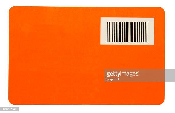 barcode on orange - charging sports stock pictures, royalty-free photos & images