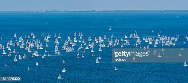Barcolana, Large Number of Sailing Boats in Adriatic Sea