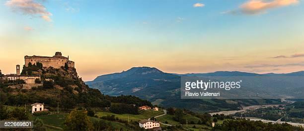 bardi, emilia-romagna, italy - emilia romagna stock photos and pictures