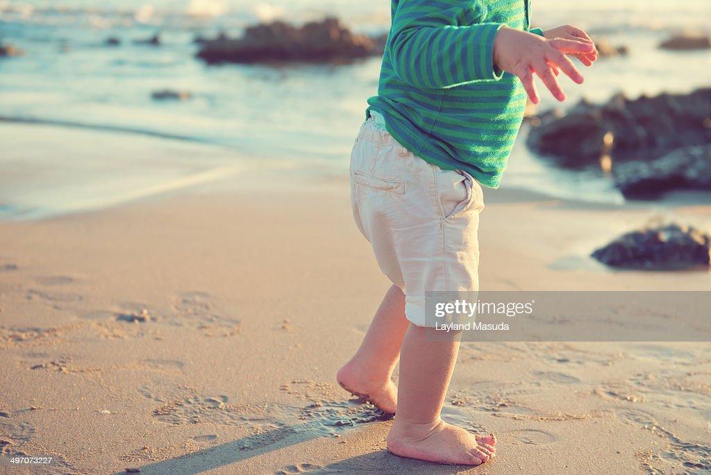Bare Feet - Toddler : Stock Photo