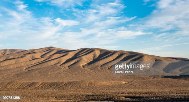 Bare mountains, petrified dunes, Death Valley, Death Valley National Park, California, USA