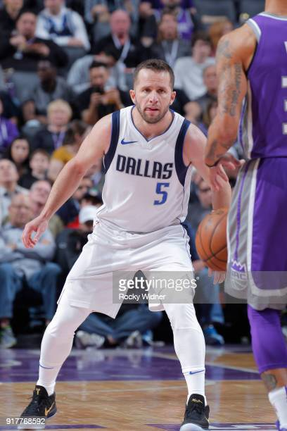 J Barea of the Dallas Mavericks defends against the Sacramento Kings on February 3 2018 at Golden 1 Center in Sacramento California NOTE TO USER User...