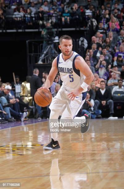 J Barea of the Dallas Mavericks handles the ball against the Sacramento Kings on February 3 2018 at Golden 1 Center in Sacramento California NOTE TO...