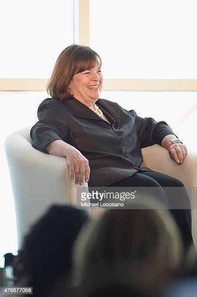 Barefoot Contessa host Ina Garten takes part in the 2015 Forbes Women's Summit Transforming The Rules Of Engagement at Pier 60 on June 10 2015 in New...