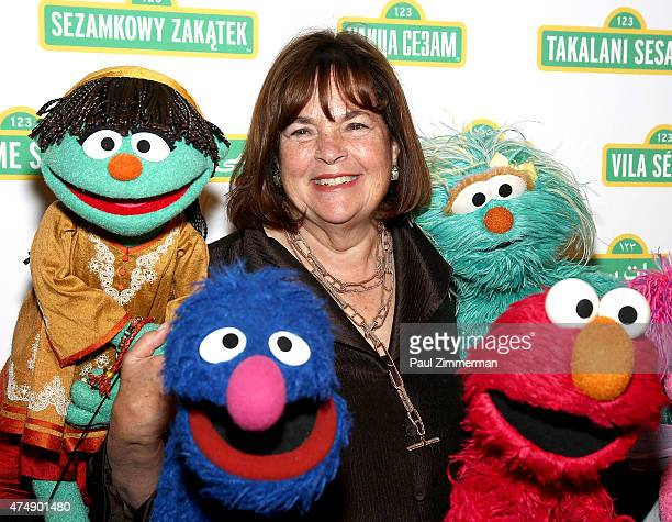 Barefoot Contessa's Ina Garten attends the Sesame Workshop's 13th Annual Benefit Gala at Cipriani 42nd Street on May 27 2015 in New York City