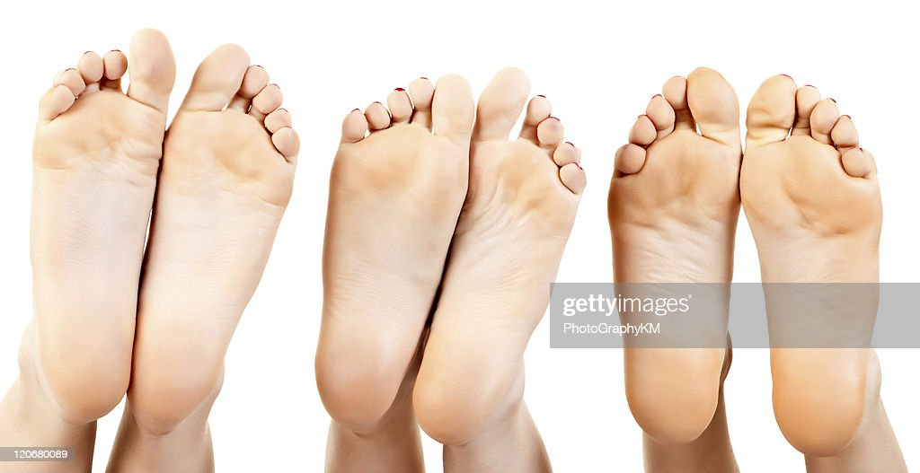 Barefoot : Stock Photo