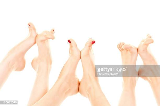 barefoot - pretty toes and feet stock pictures, royalty-free photos & images