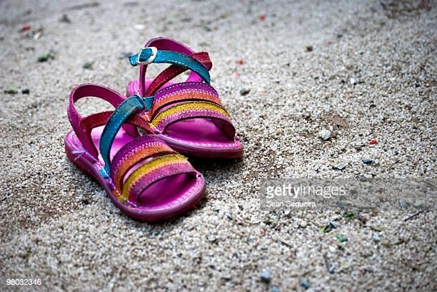 barefoot's   - サンダル ストックフォトと画像