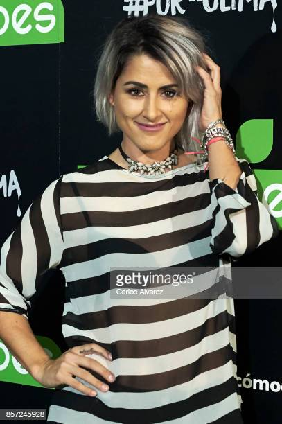 Barei attends 'An Inconvenient Sequel Truth to Power' premiere at the Callao cinema on October 3 2017 in Madrid Spain