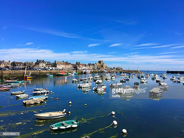 Barfleur, a beautiful fishing village on the Normandy coast.