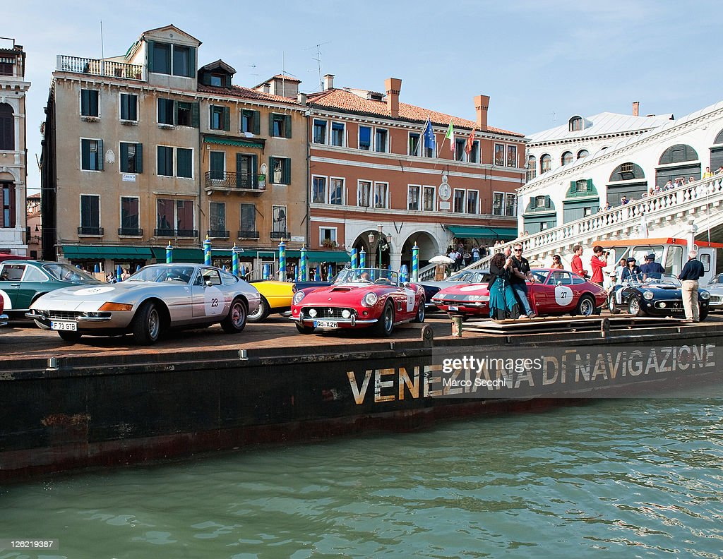 Ferrari Classic Car Tour 2011 In Venice Photos and Images | Getty ...