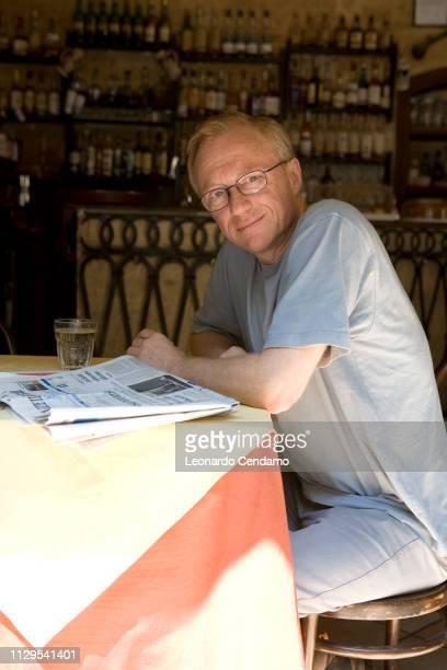 Bari, Italy, July 2007, David Grossman, Israeli writer and essayist.
