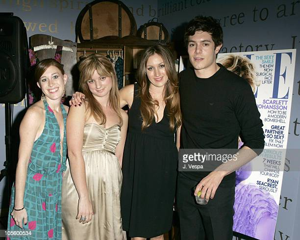 Bari Milken Ilaria Urbinati Katherine Power and Adam Brody