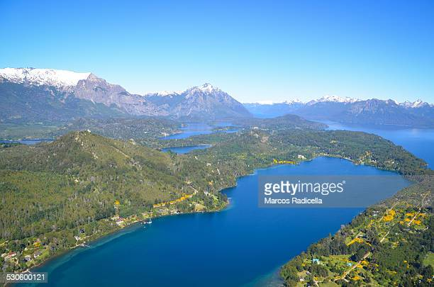 bariloche, patagonia, argentina - radicella stock photos and pictures