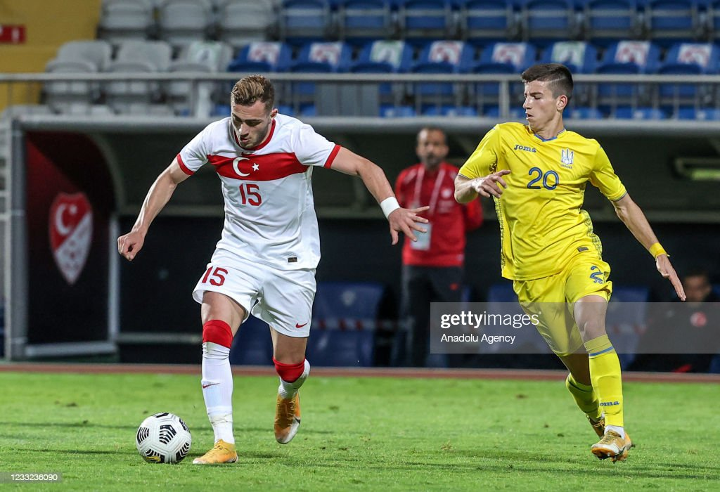 Turkey vs Ukraine: Friendly soccer match : News Photo