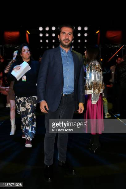 Baris Erasattends the MercedesBenz Fashion Week Istanbul March 2019 at Zorlu Center on March 20 2019 in Istanbul Turkey