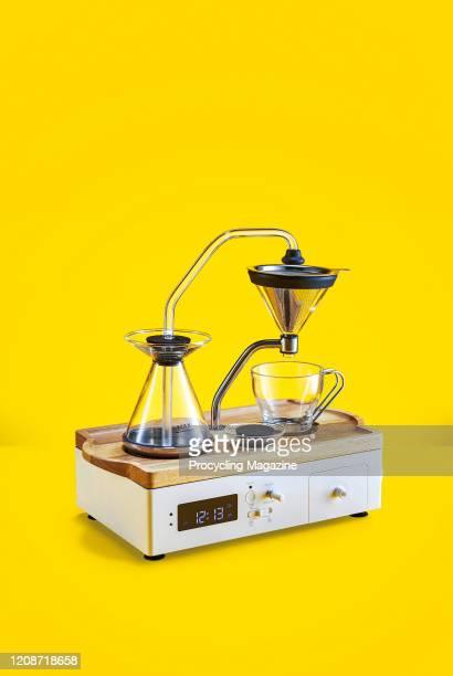 A Barisieur coffee alarm clock taken on July 22 2019