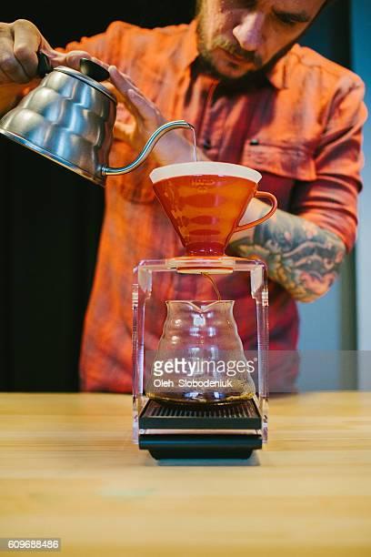 Barista, Kaffee
