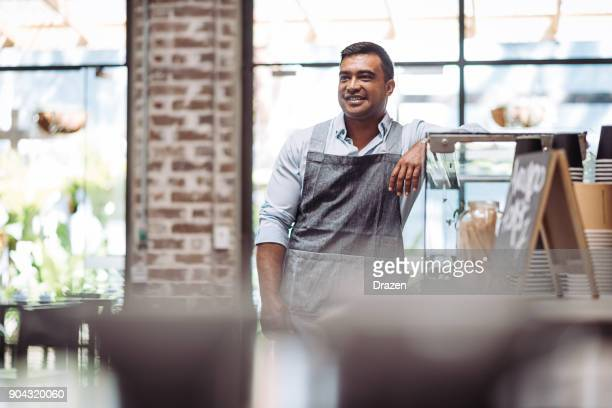 barista running his own business - part time job stock pictures, royalty-free photos & images