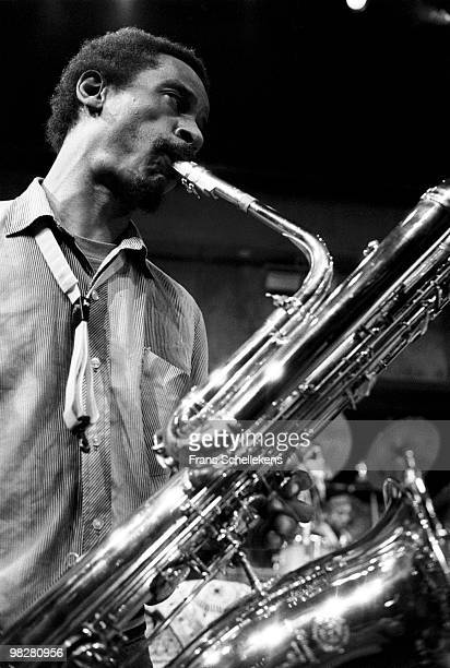 Baritone Saxophonist Roscoe Mitchell performs live on stage with The Art Ensemble Of Chicago at Vredenburg in Utrecht, Netherlands on May 01 1984
