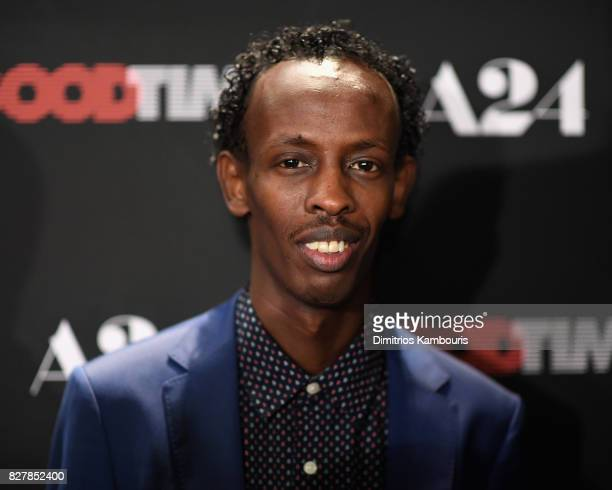 Barkhad Abdi attends 'Good Time' New York Premiere at SVA Theater on August 8 2017 in New York City