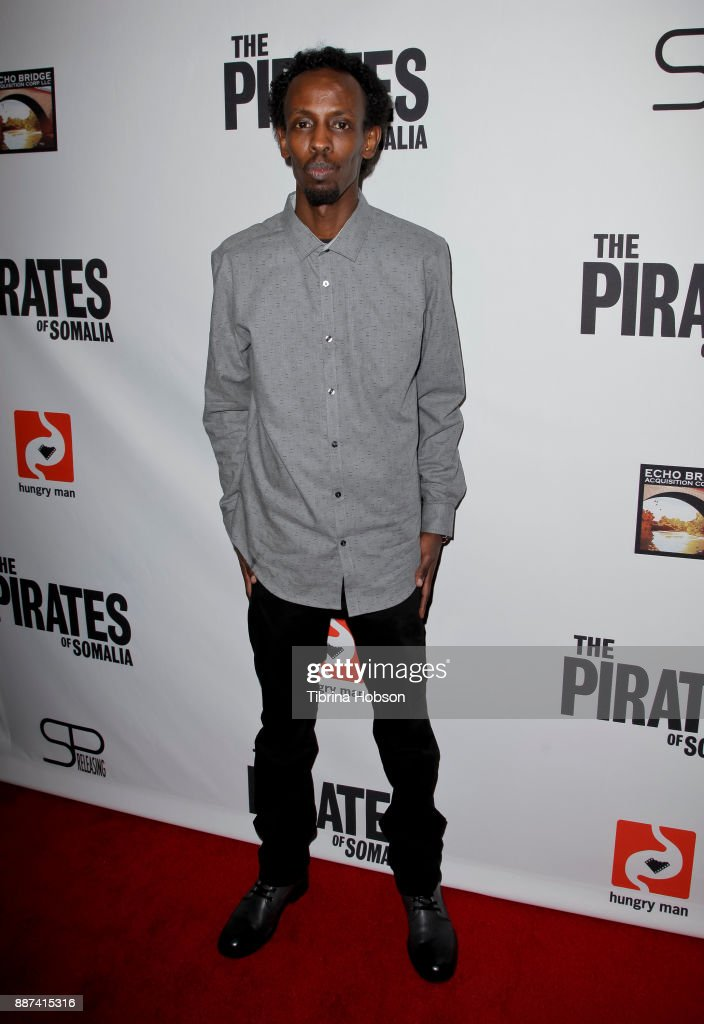Barkhad Abdi attends the premiere of 'The Pirates Of Somalia' at TCL Chinese 6 Theatres on December 6, 2017 in Hollywood, California.