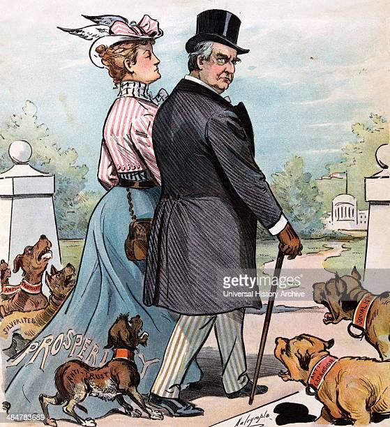 'Barking Dogs Never Bite' cartoon 1900